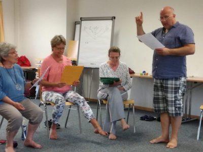 Gesangskurs im Sommer mit Johannes Geppert